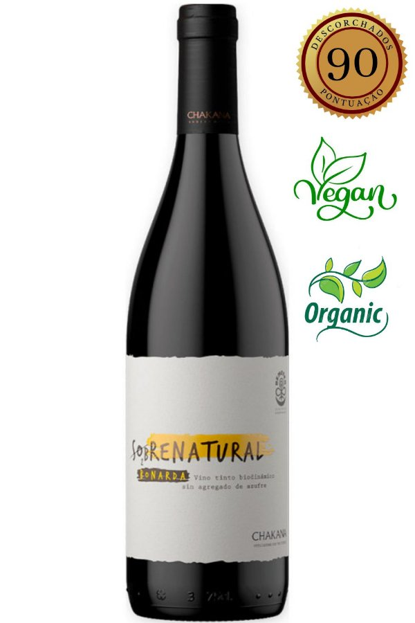 Vinho Chakana Sobrenatural Bonarda 2019