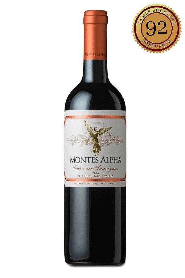 Vinho Montes Alpha Cabernet Sauvignon 2017