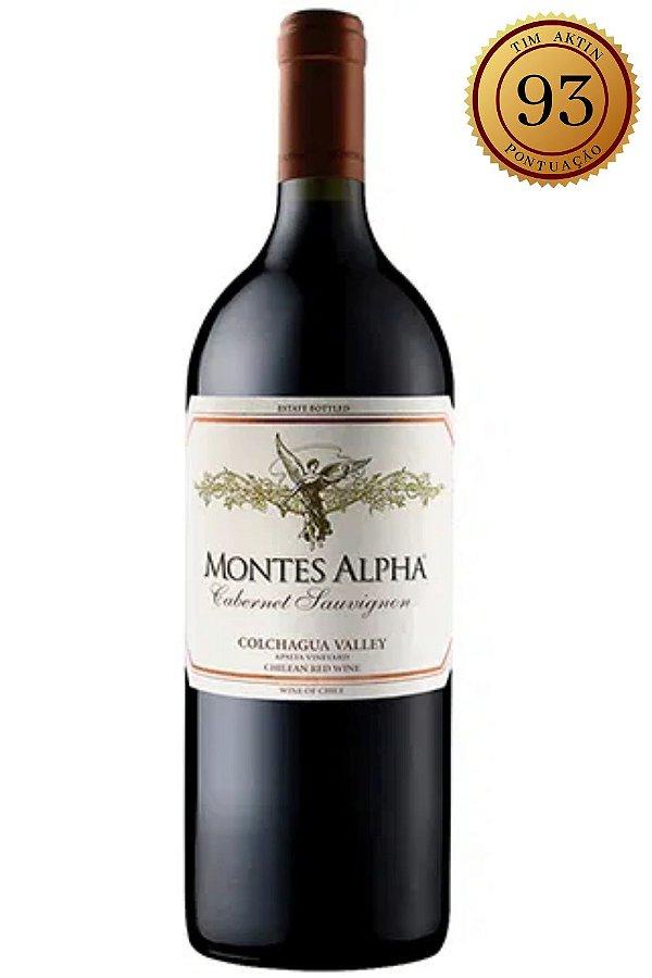 Vinho Montes Alpha Cabernet Sauvignon Magnum 2014