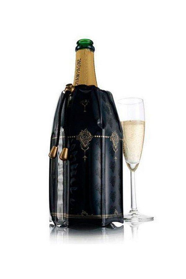 Cooler Para Champagne Plástico Vacu Vin