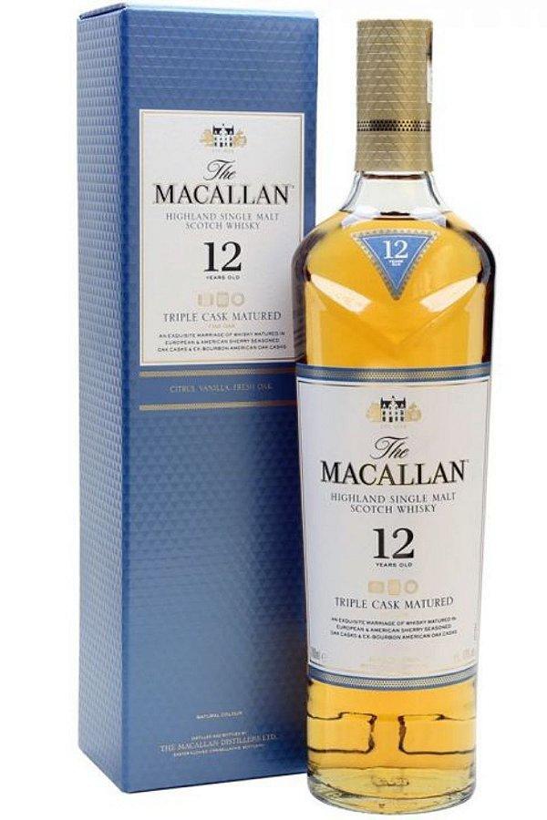 Whisky The Macallan 12 anos Triple Cask Matured 700ml