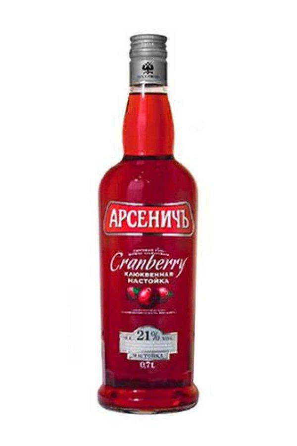 Vodka Arsenitch Com Oxicoco Cranberry 500ml