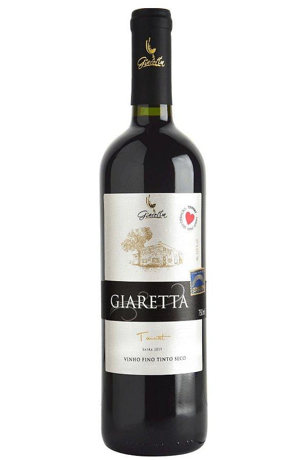 Vinho Giaretta Tannat 2019