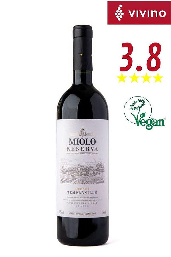 Vinho Miolo Reserva Tempranillo 2018
