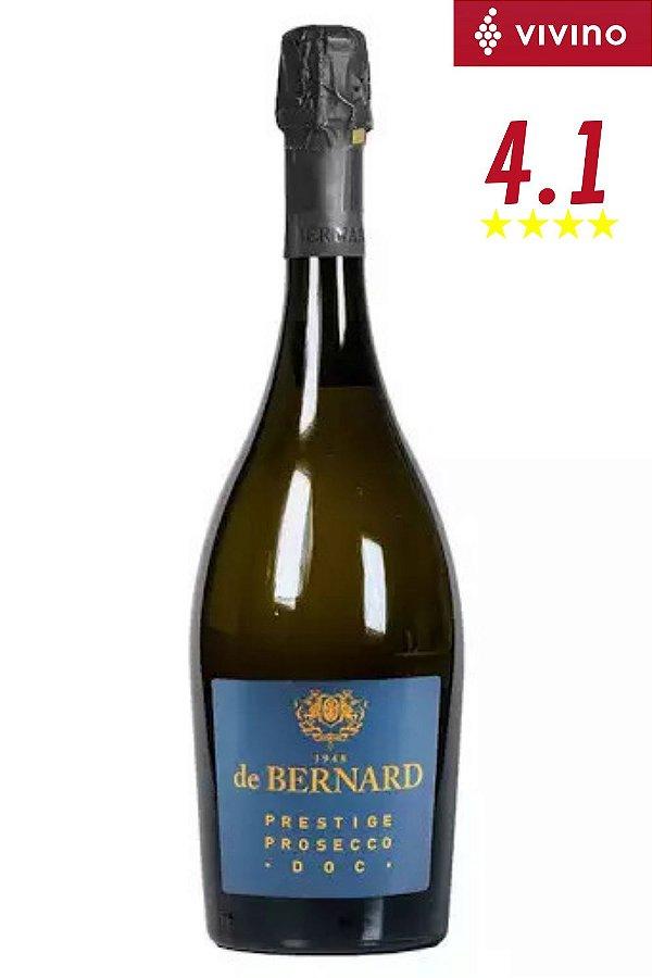 Espumante Prosecco De Bernard Doc Treviso Extra Dry 750 ml