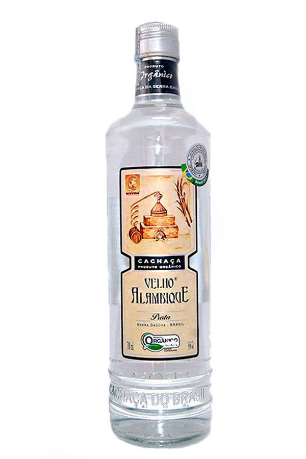 Cachaca Velho Alambique Prata 700 ml