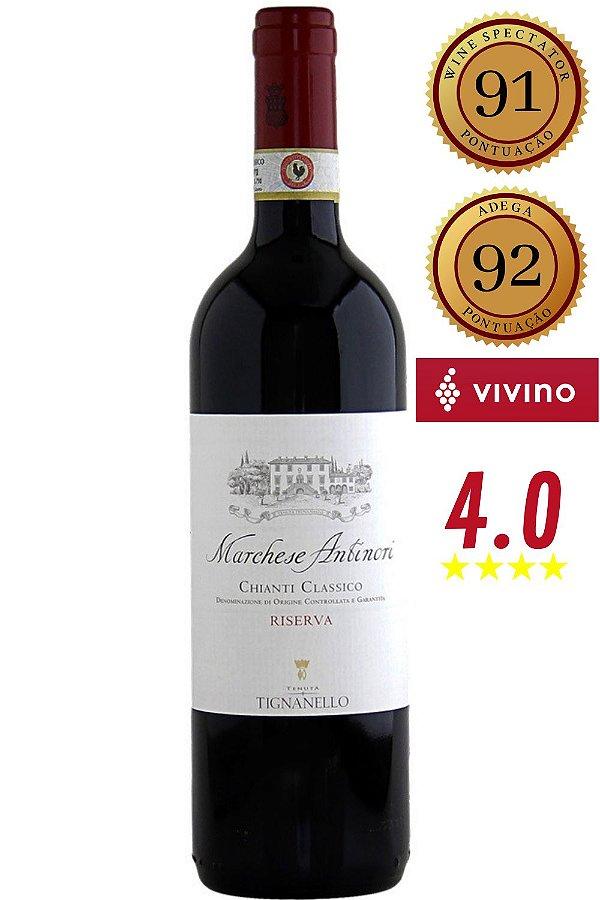Vinho Marchese Antinori Chianti Classico Riserva 2015