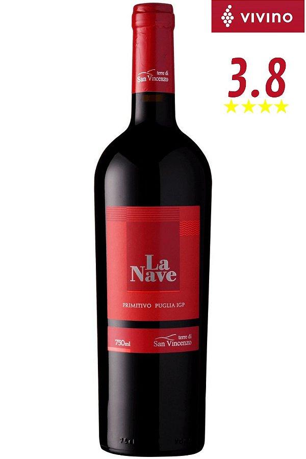 Vinho La Nave Primitivo Puglia 2018
