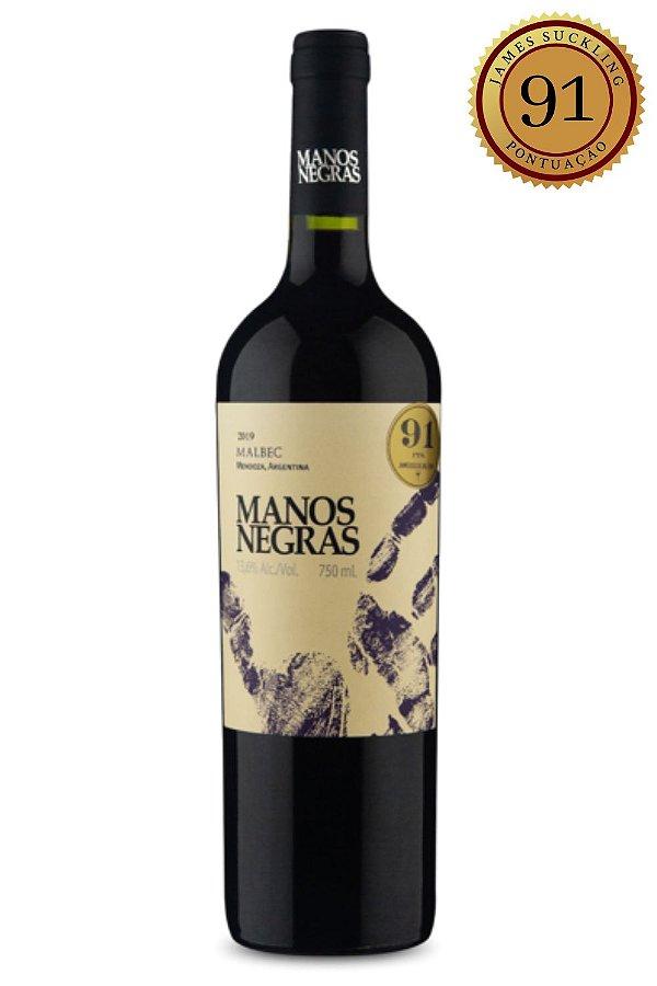 Vinho Manos Negras Malbec 2019