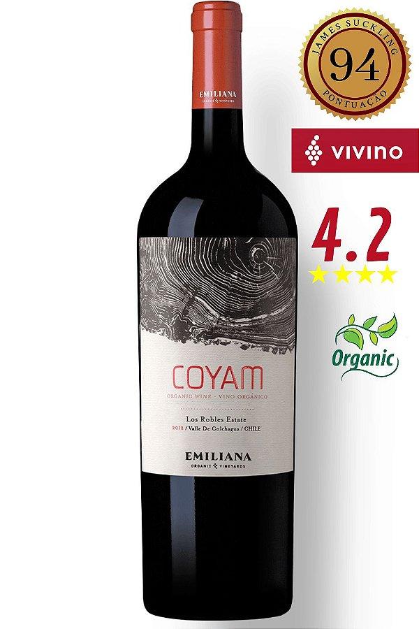 Vinho Emiliana Coyam Orgânico 2016