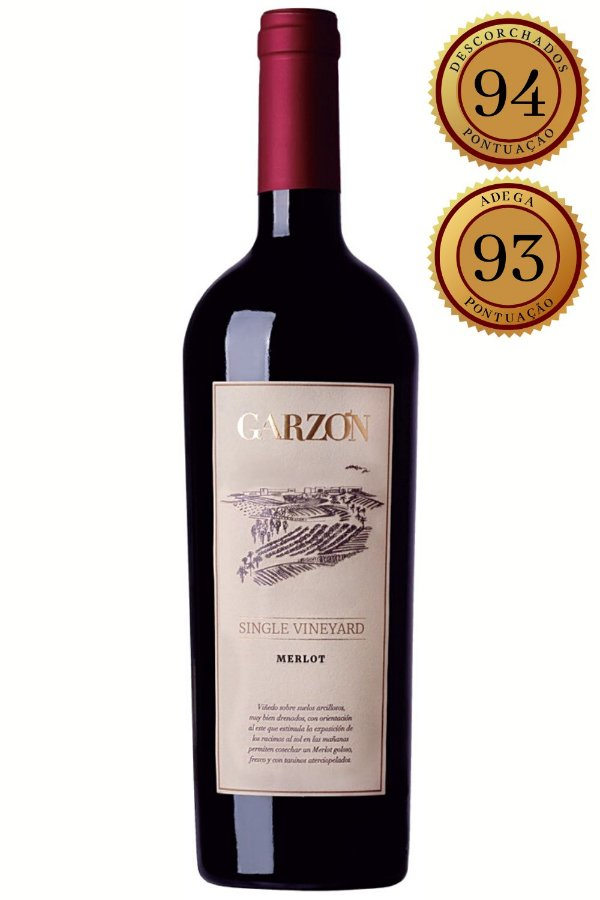 Vinho Garzon Single Vineyard Merlot 2016