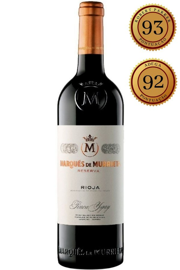 Vinho Marques de Murrieta Reserva 2015