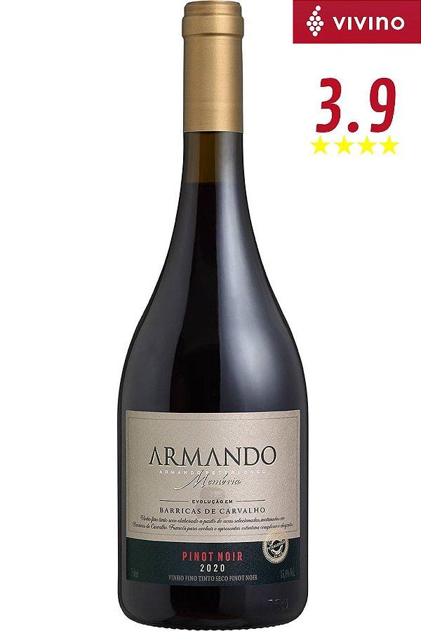 Vinho Armando Memória Pinot Noir 2020