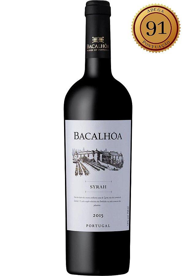 Vinho Bacalhôa Syrah 2015