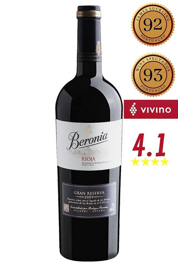 Vinho Beronia Gran Reserva 2011