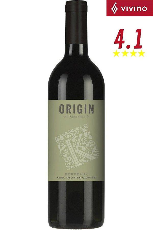 Vinho Bordeaux Origin De Kressmann