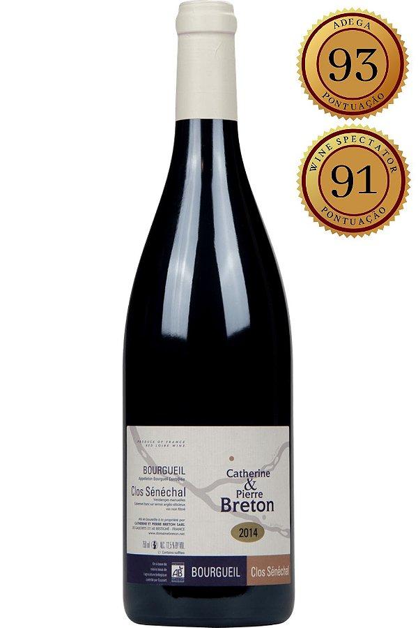 Vinho Bourgueil Clos Senechal