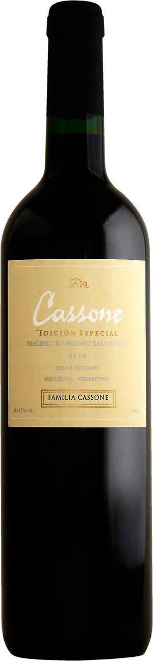Vinho Cassone Espécial Malbec/ Cabernet Sauvignon