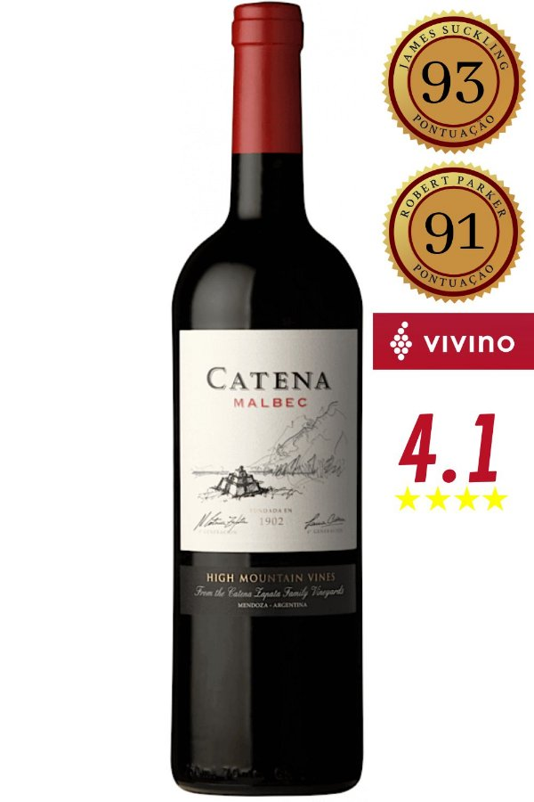 Vinho Catena Malbec 2017