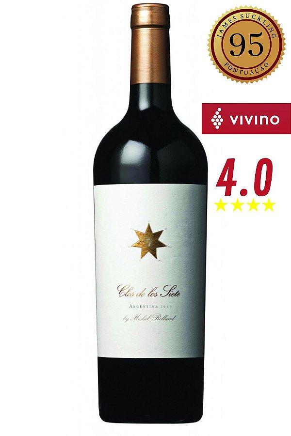 Vinho Clos de los Siete by Michel Rolland