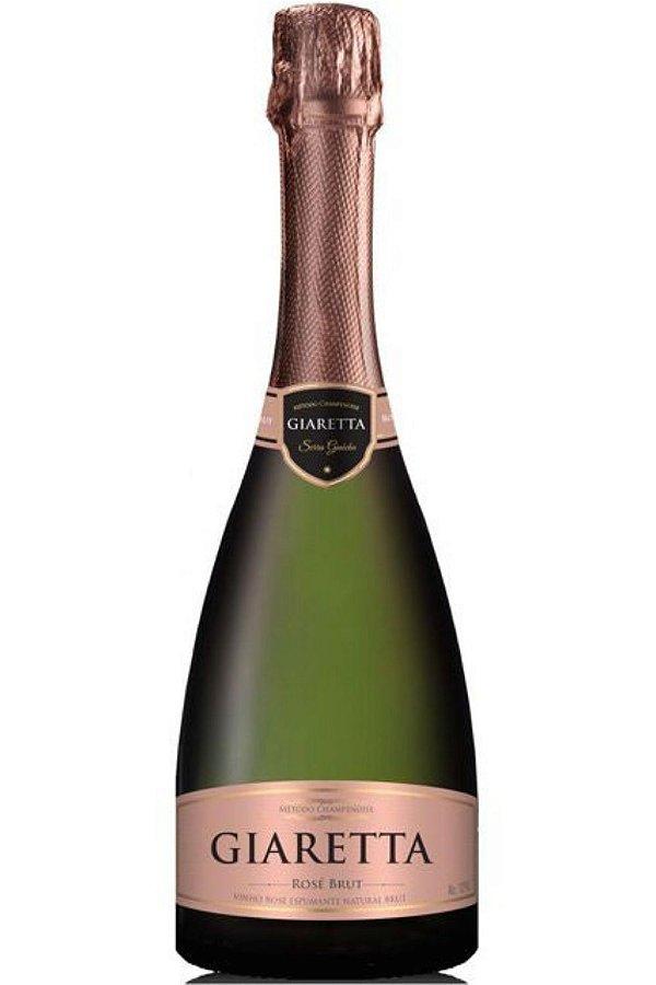 Espumante Giaretta Brut Rose Champenoise 750ml