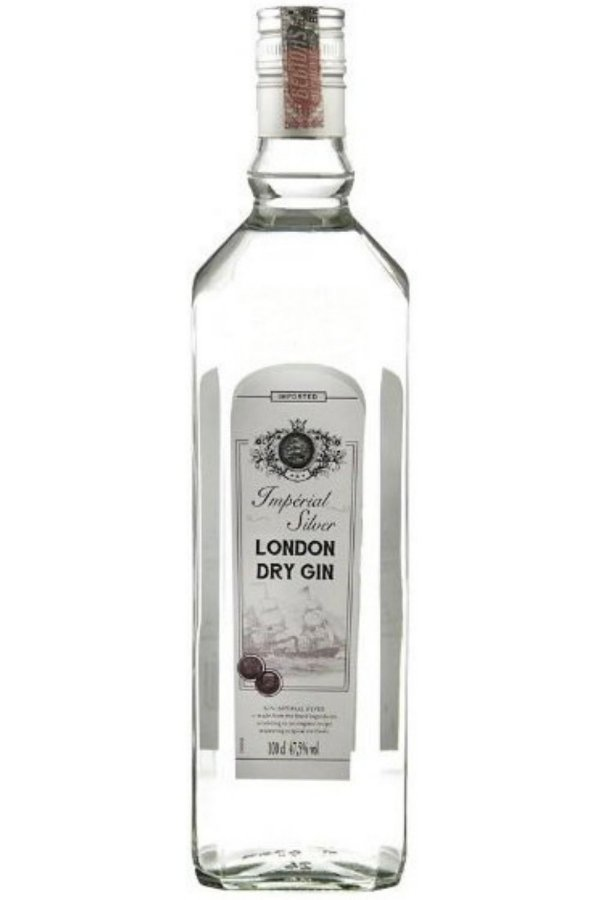 Gin London Dry Imperial Silver