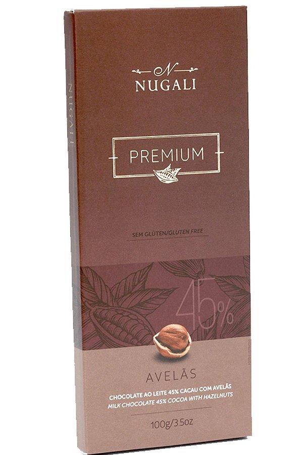 Chocolate Nugali 45% Avelãs