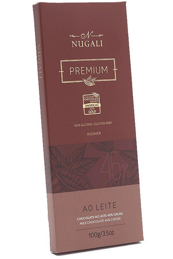 Chocolate Nugali 45 % Ao Leite