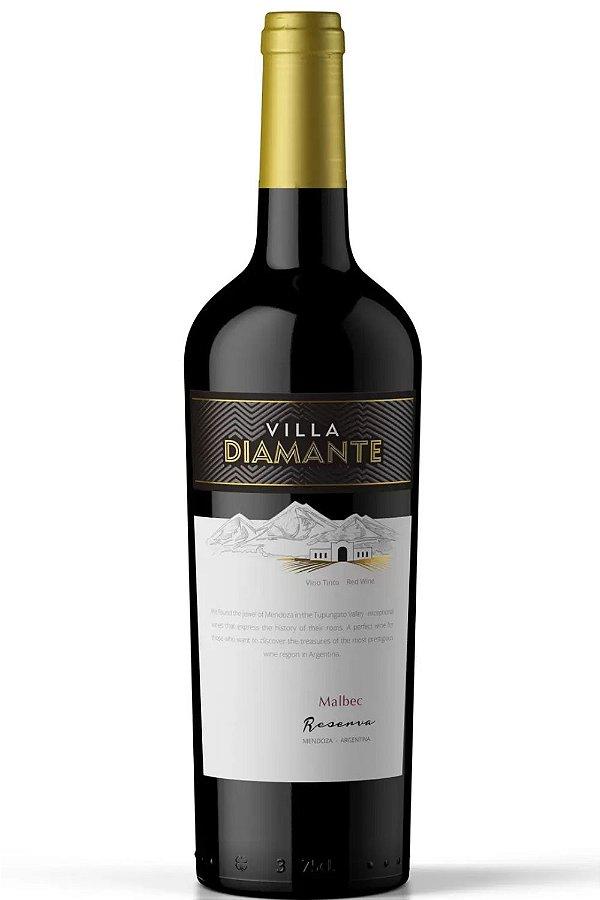 Vinho Villa Diamante Malbec Reserva 2018