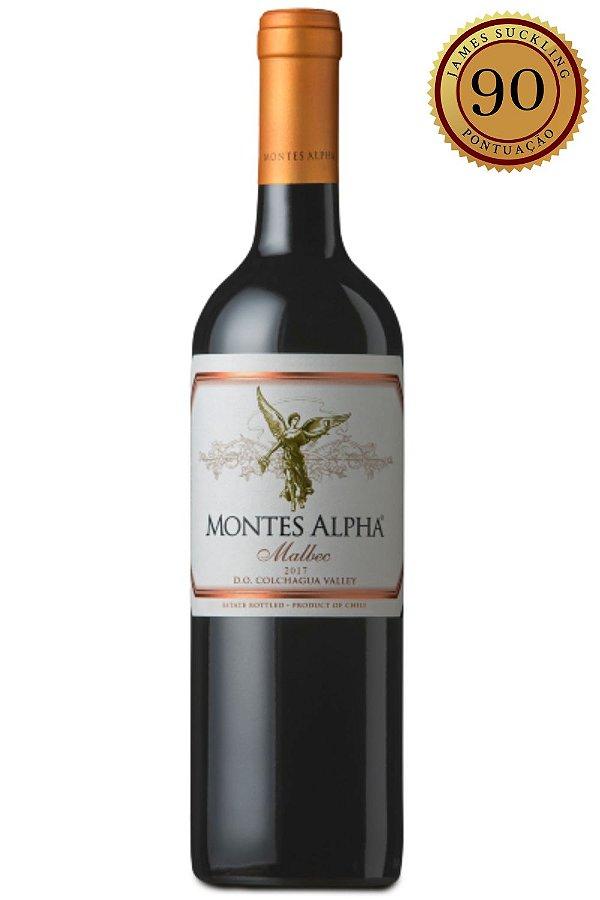 Vinho Montes Alpha Malbec 2014