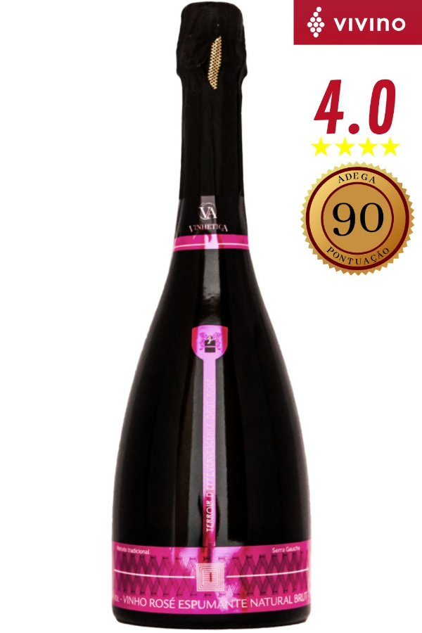 Espumante Vinhetica Terroir Brut Rosé 750 ml