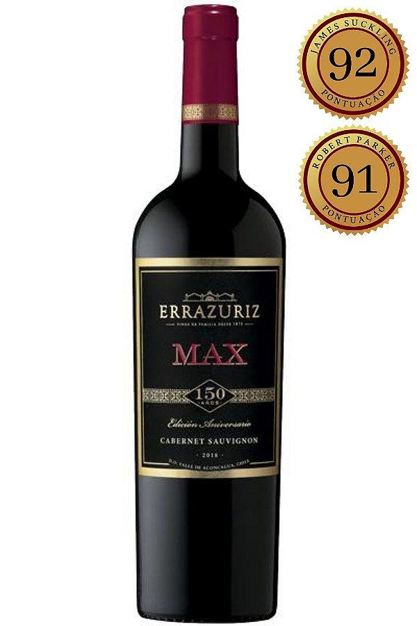 Vinho Errazuriz Max Reserva Cabernet Sauvignon 2018