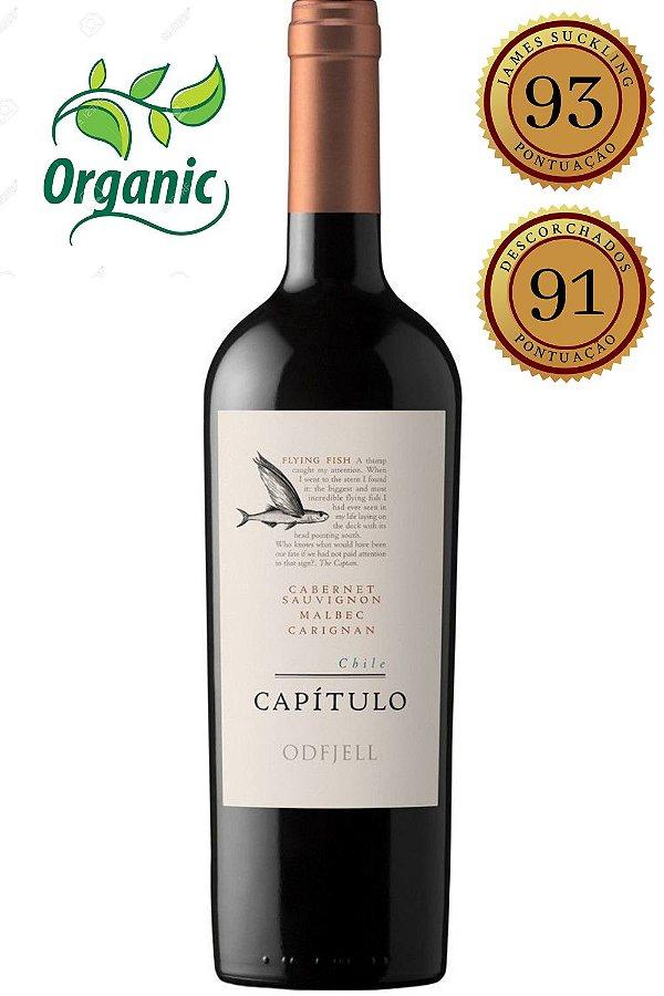 Vinho Odfjell Capitulo Blend Orgânico