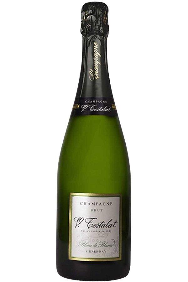 Champagner Testulat Brut Blanc De Blancs 750 ml