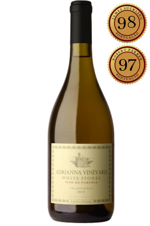 Vinho Adrianna Chardonnay Zapata 2017