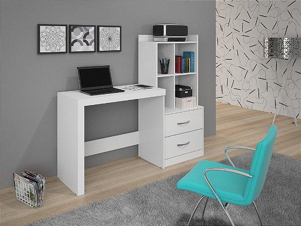Escrivaninha Alana JCM Móveis Branco