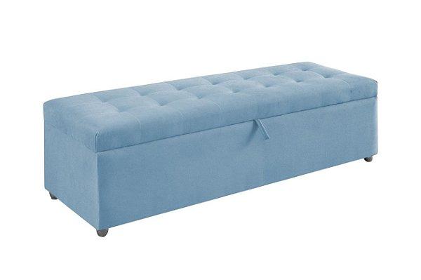 Puff Baú Maupes - Azul BB