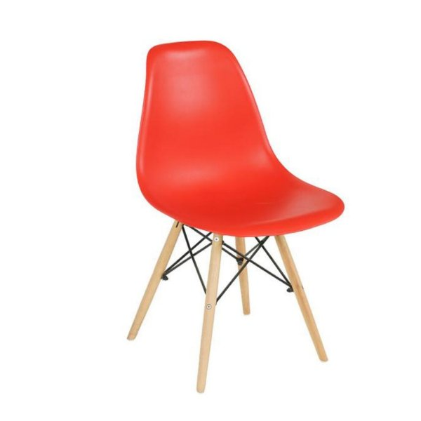 Cadeira Eames Cor Vermelho Ferrari