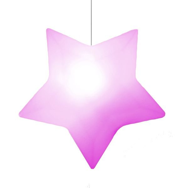Pendente Estrela Rosa