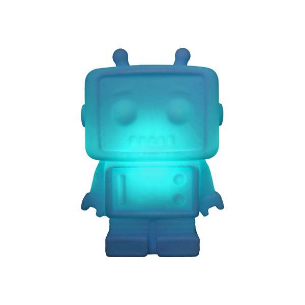 Luminária Lightbox Robô Azul