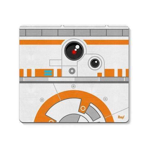 Mouse Pad Geek Side Faces BB8