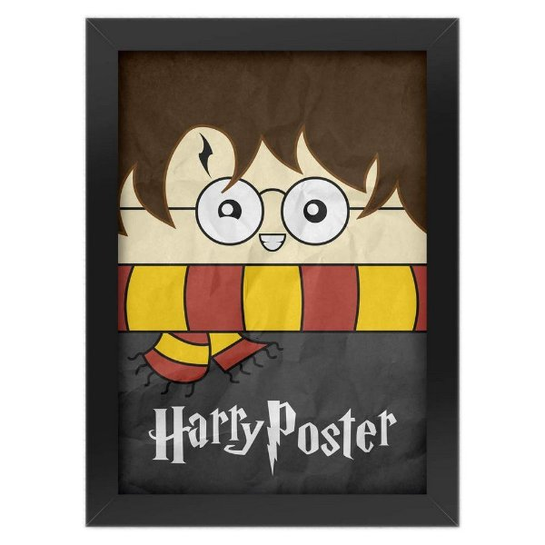 Poster Com Moldura Harry Potter