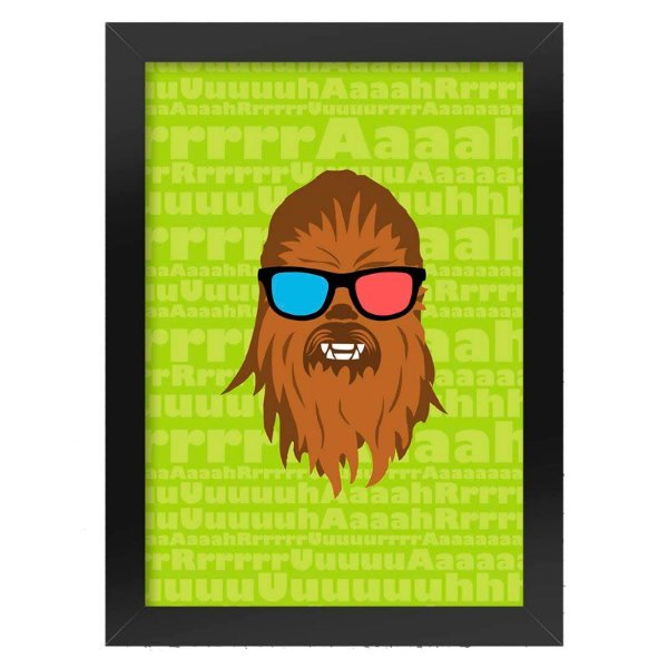 Poster Chewbacca Star Wars
