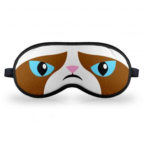 Máscara Meme Grumpy Cat