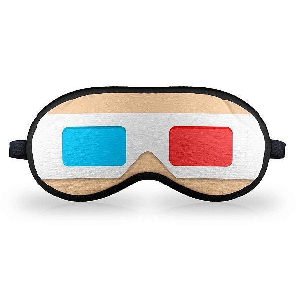 Máscara de Dormir Óculos 3D