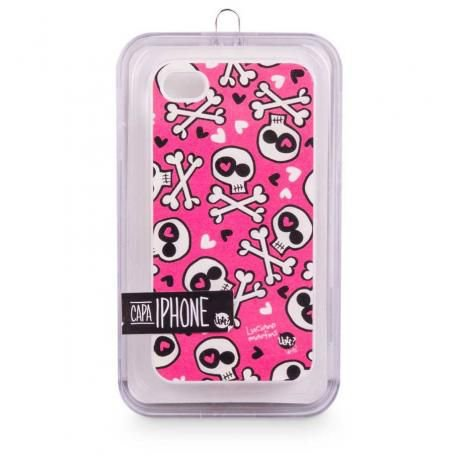CAPA IPHONE 4 SKIN LOVE PUNK
