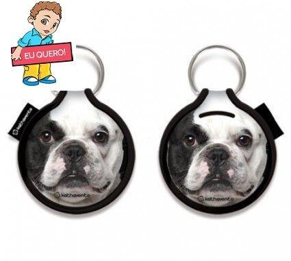 Porta Pendrive Bulldog