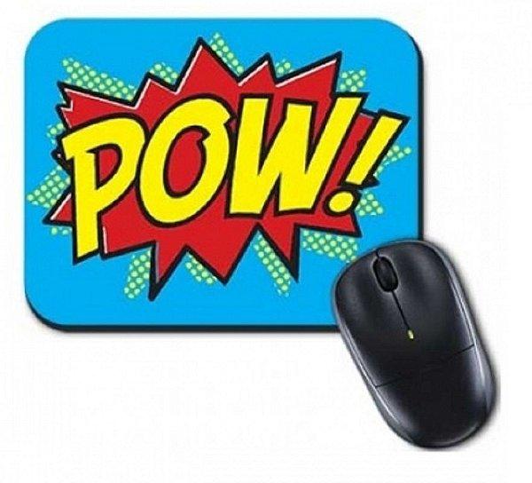 Mouse Pad Pop Pow