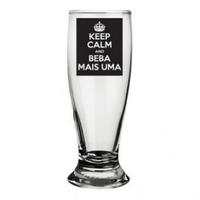 Copo de Cerveja Keep Calm