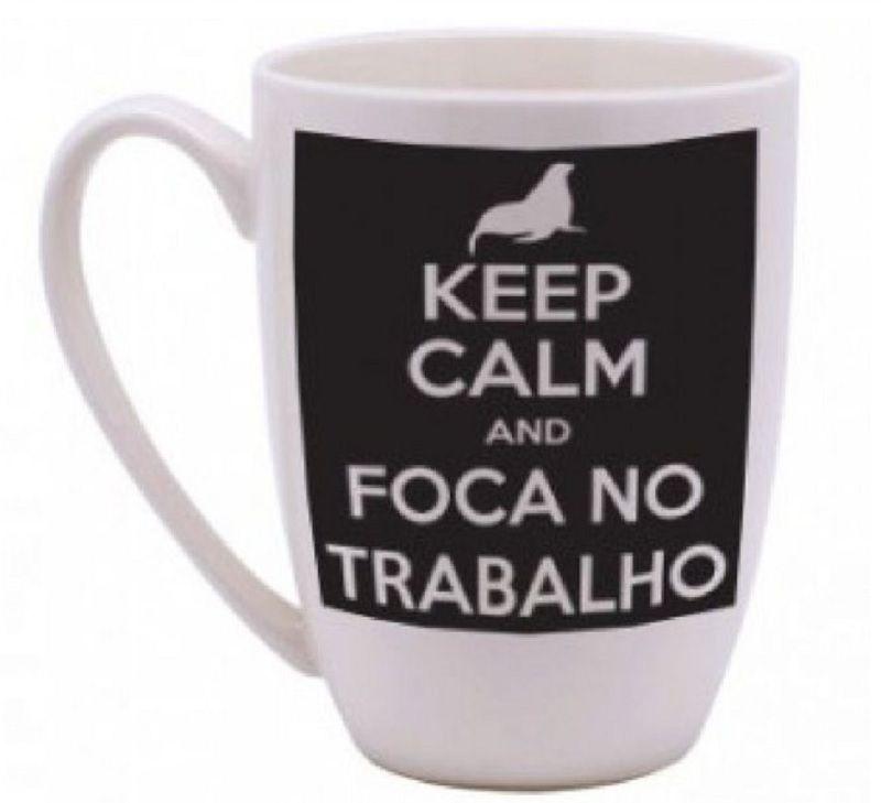Caneca Keep Calm Trabalho